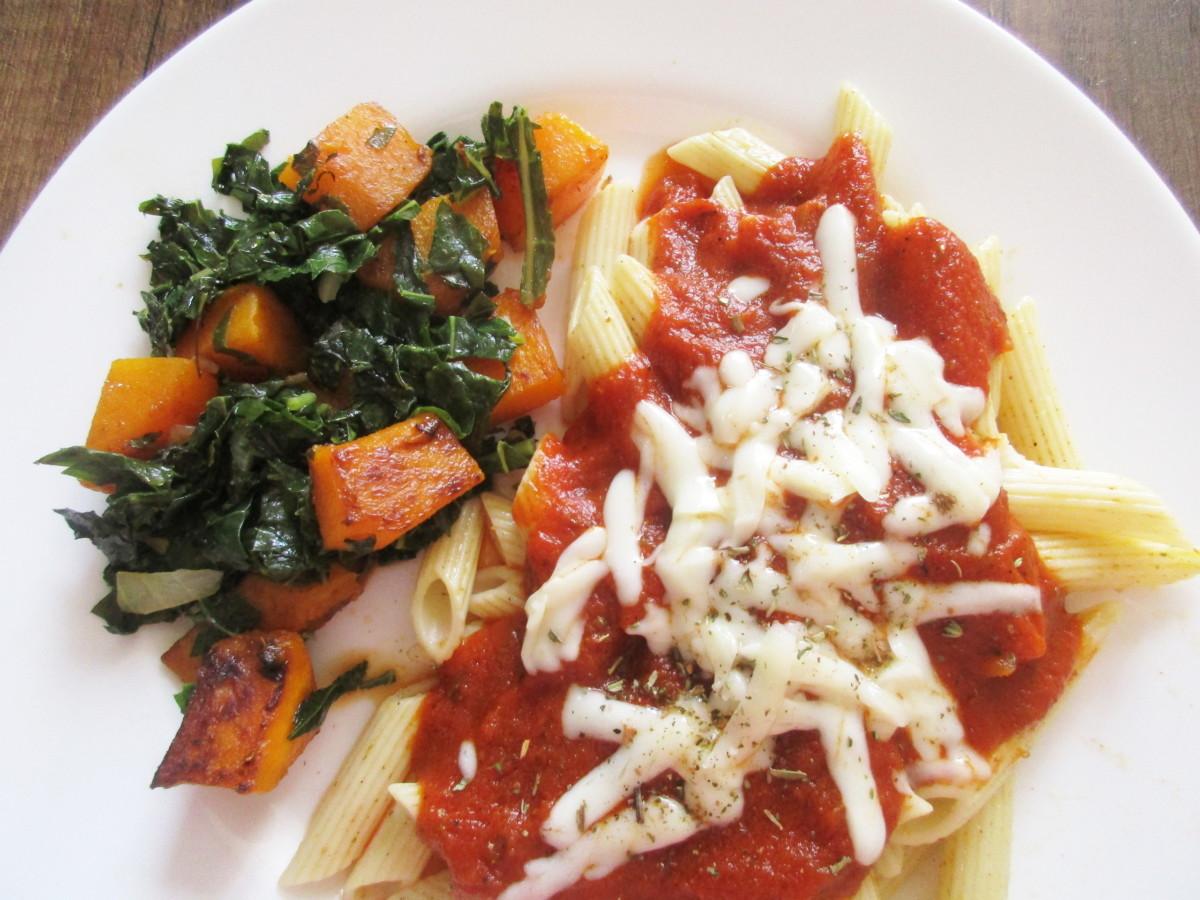 marinara sauce for Cauliflower Parmesan
