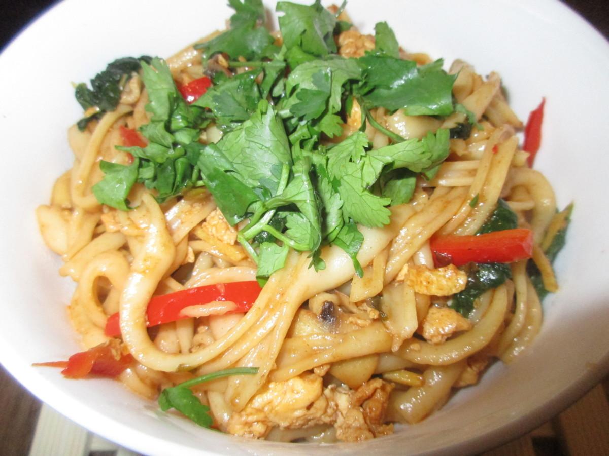 spicy dragon noodles