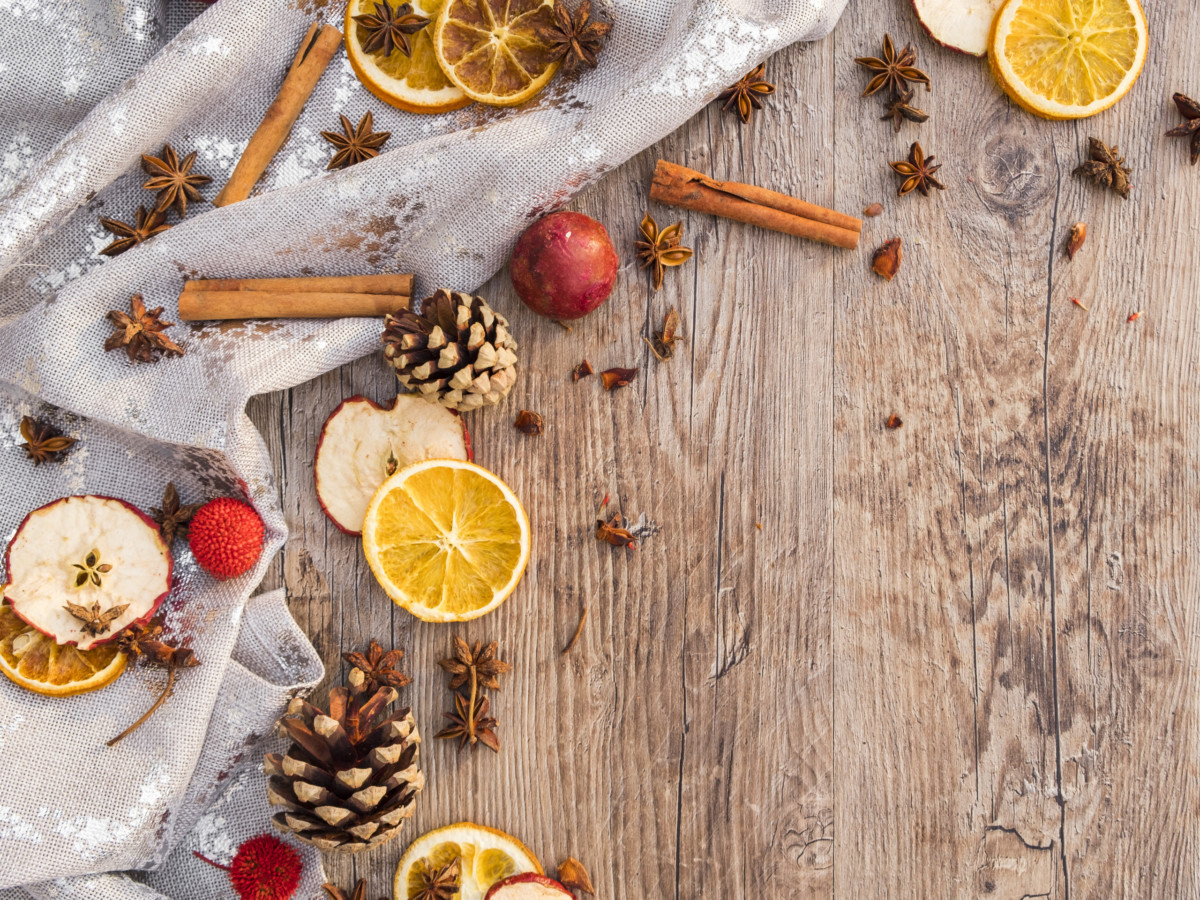 healing herbs and spices of winter